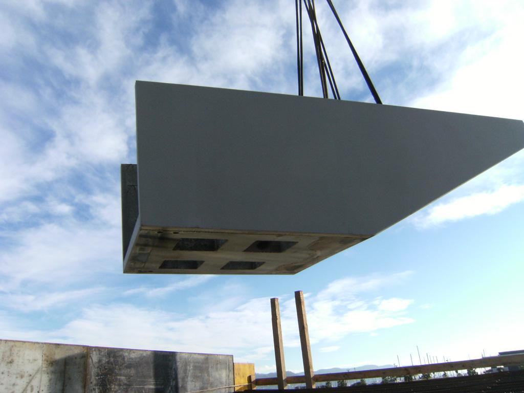 Elementi per muri in cemento armato