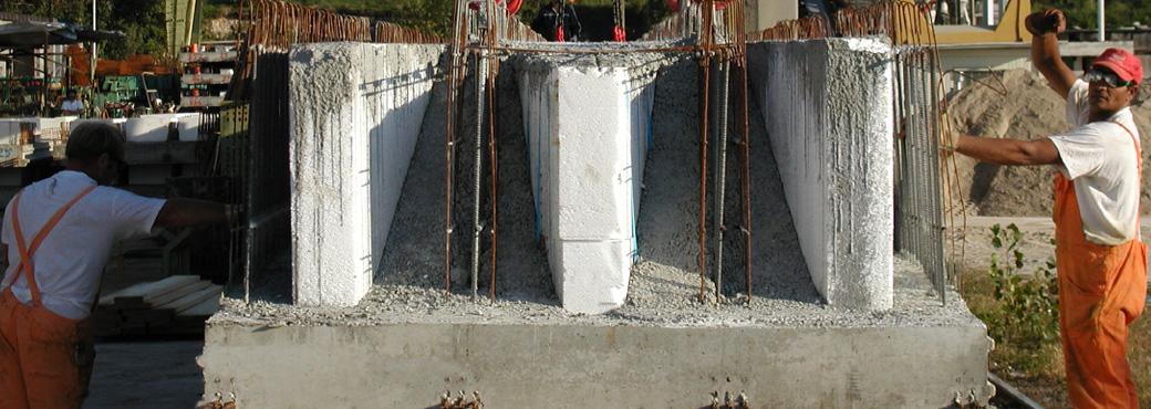 Lastre in cemento armato per solai