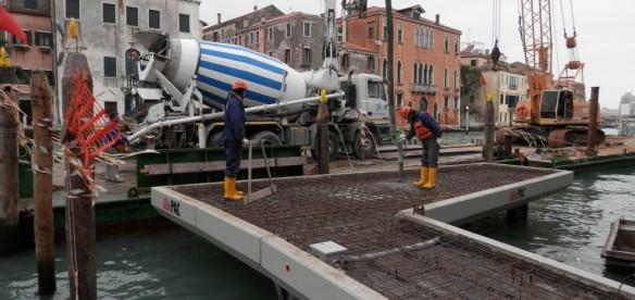Pontile Prefabbricato PAC per approdo di San Marcuola – Venezia