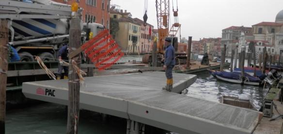 Venezia (VE) – Pontile per approdo San Marcuola