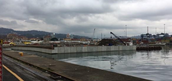 La Spezia (SP) – Banchinamento Porto Mercantile