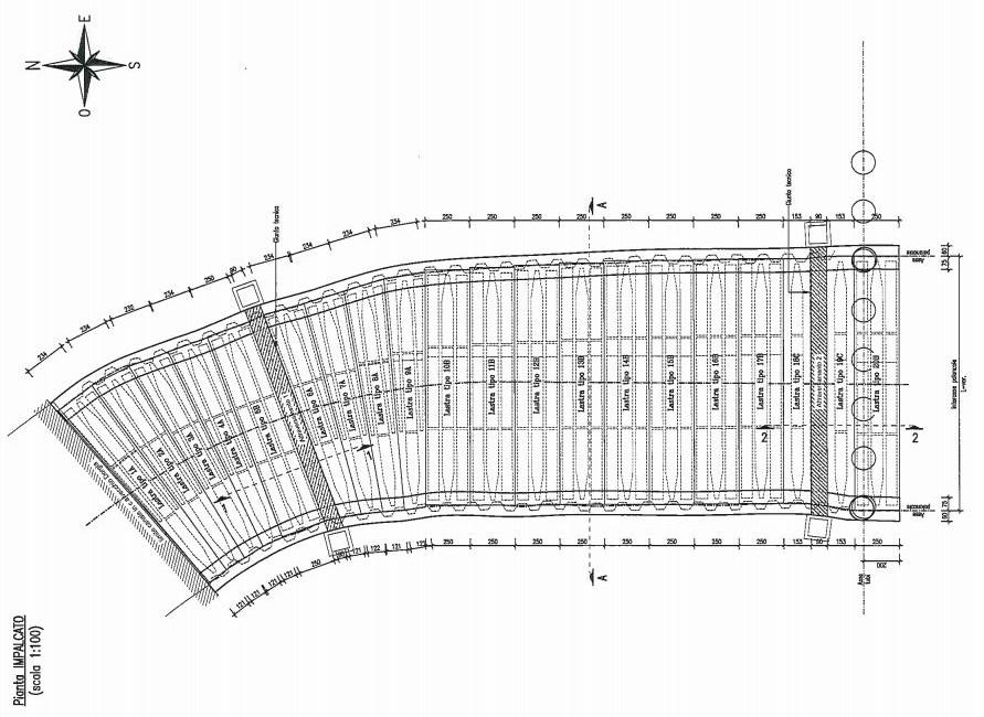 La Spezia - Copertura Marina del Canaletto 12 pianta