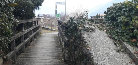 Lana (BZ) – Ponte sul Rio Brandis