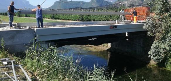 Bronzolo (BZ) – Ponte sulla Fossa Grande